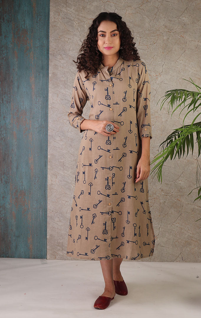 Elegance is The Key Kurta