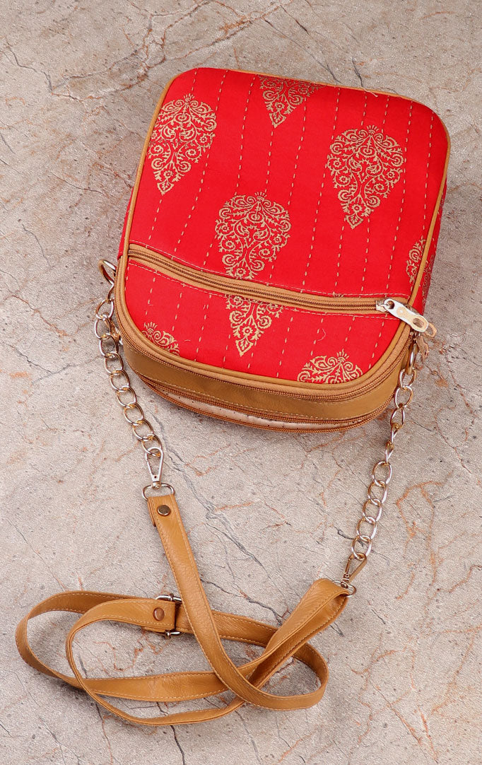 Red like a Rose Sling Bag