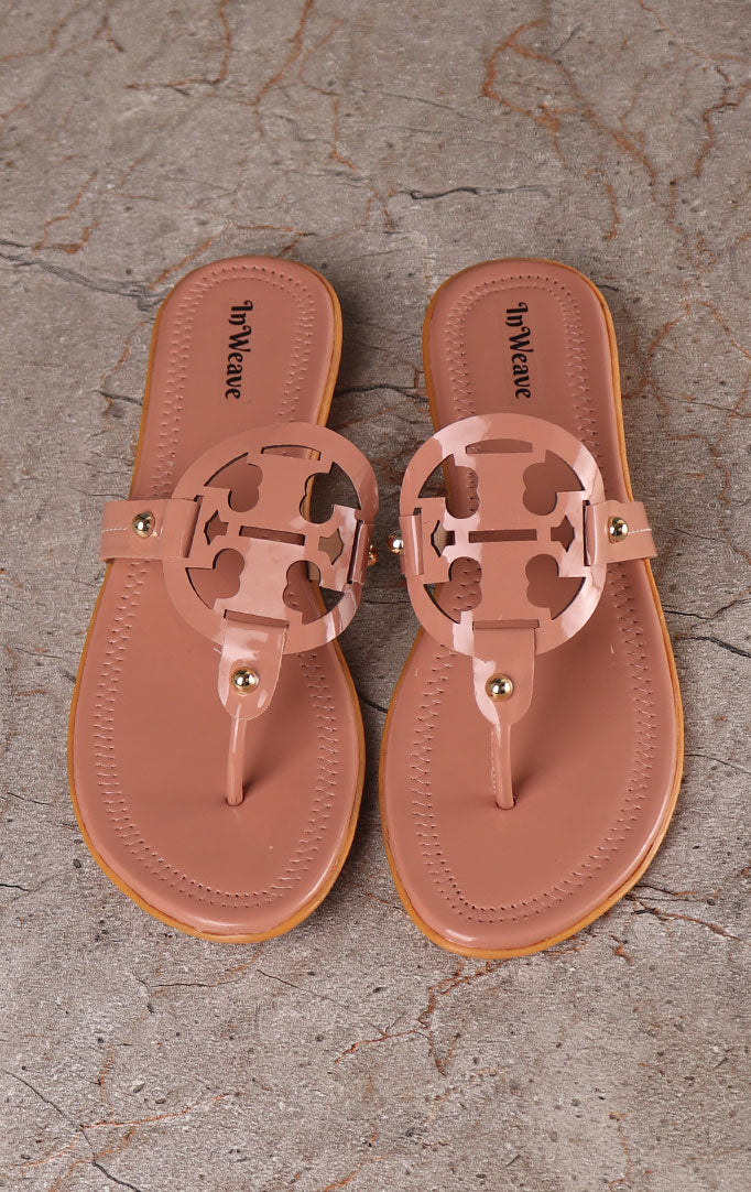 Skin-colored Chappals