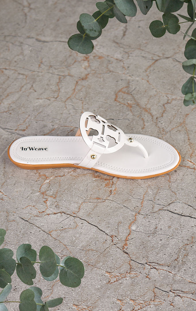 White Flats with Attractive Motif