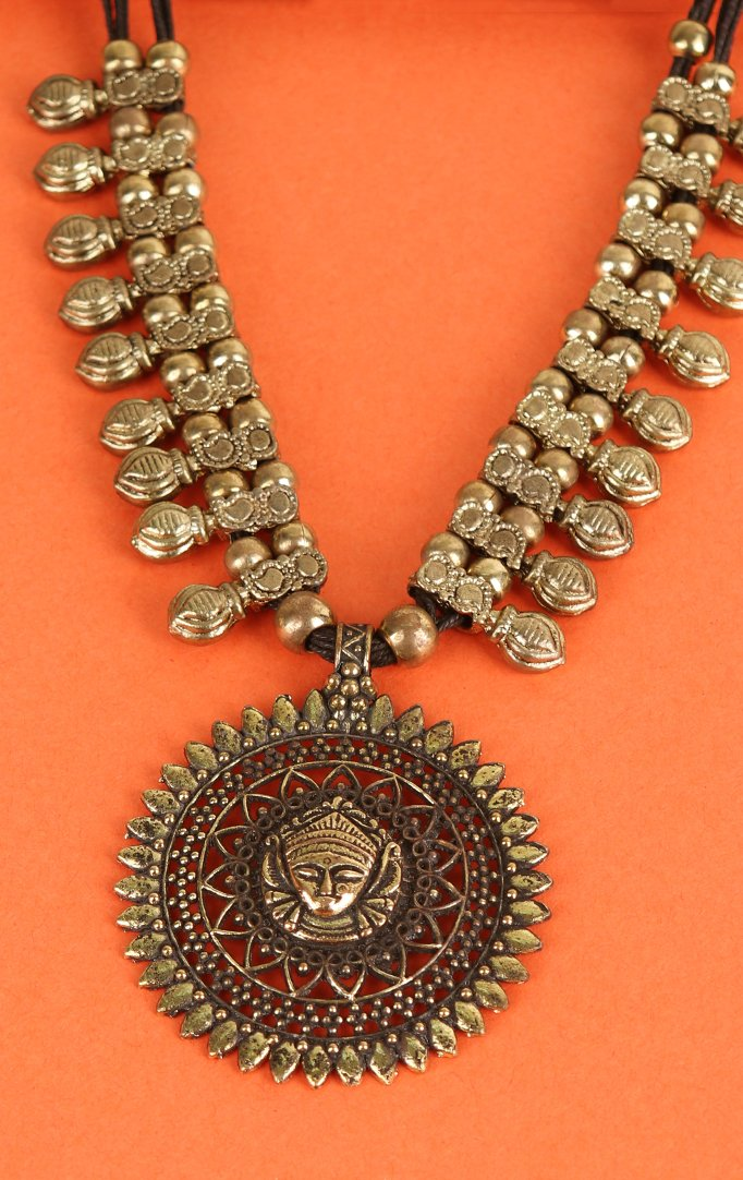 Gold Temple Necklace