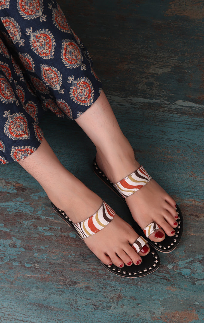 Outlandish Ikat Flats