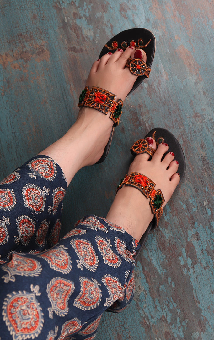 A Little Dazzle On Your Feet Sandals