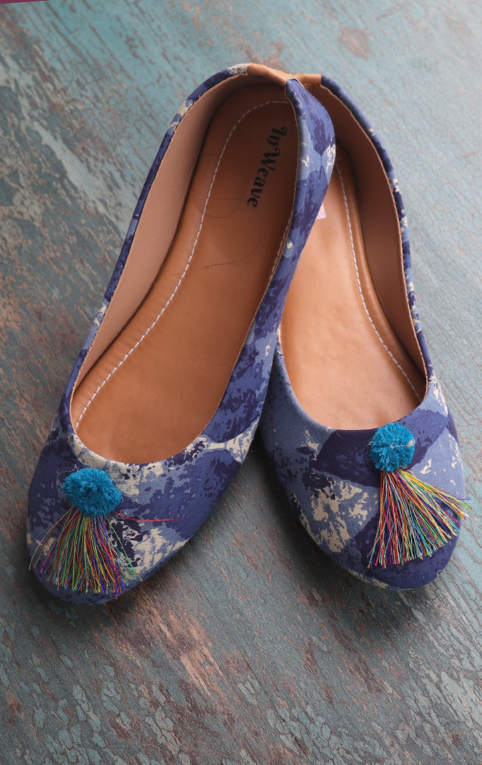 Cozy Up Your Feet Bellies In Deep Blue