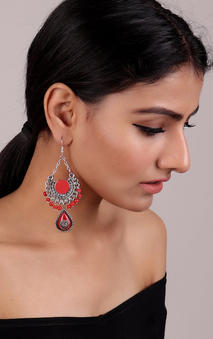 Cutesy Best of Red Earrings