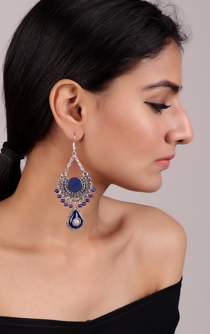 Cutesy Best of Blue Earrings