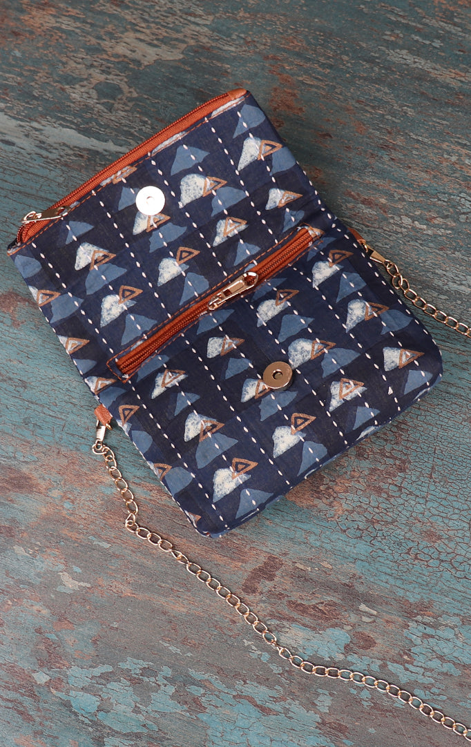 HILLS ARE CALLING NAVY SLING BAG