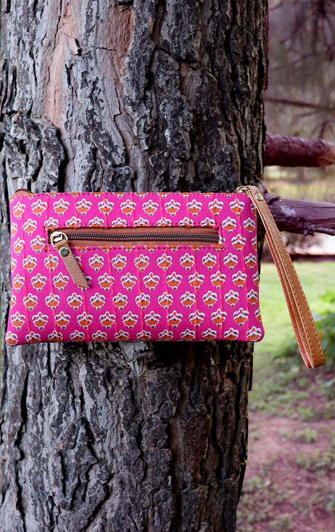 Perfect in Pink Clutch