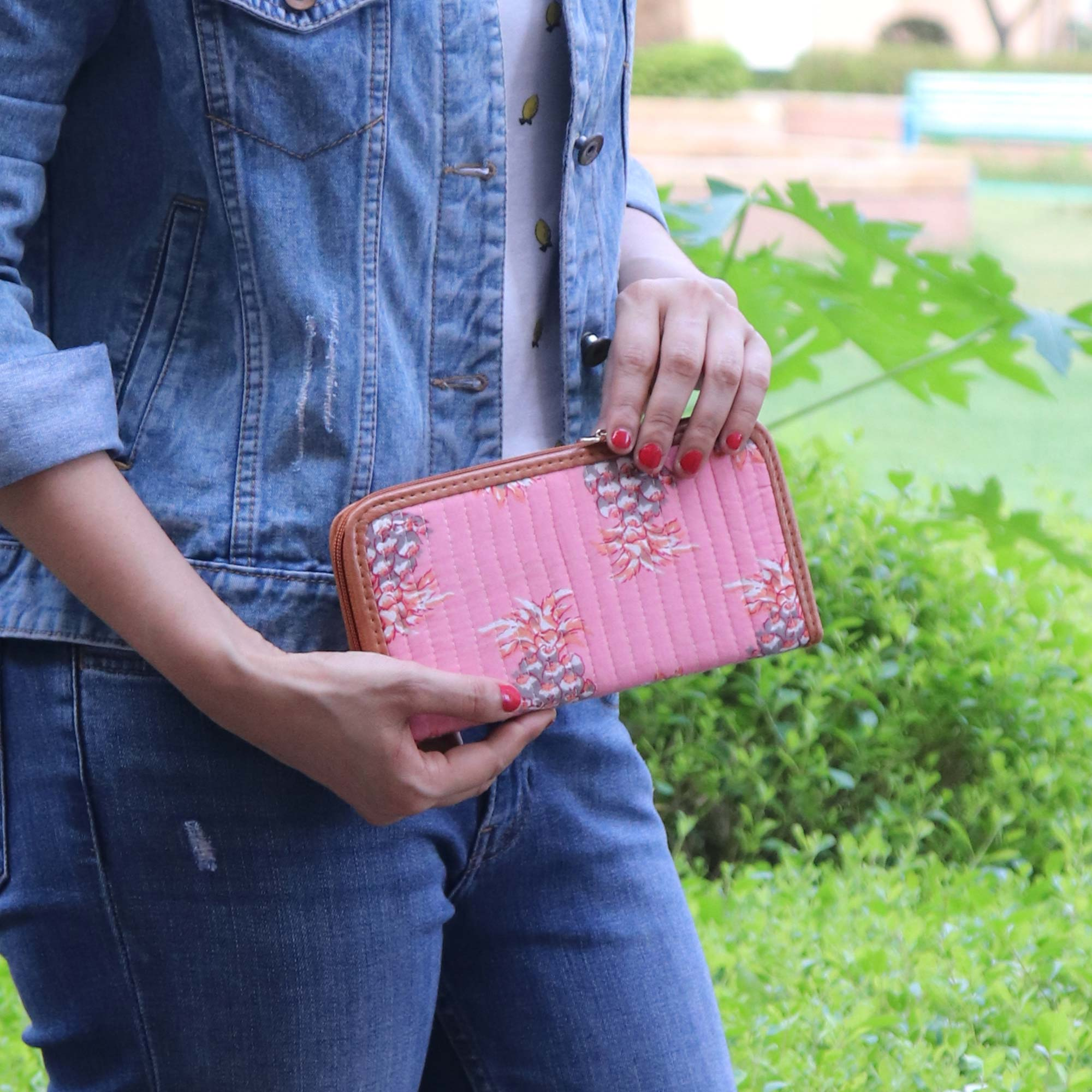 Pink Perfection Clutch
