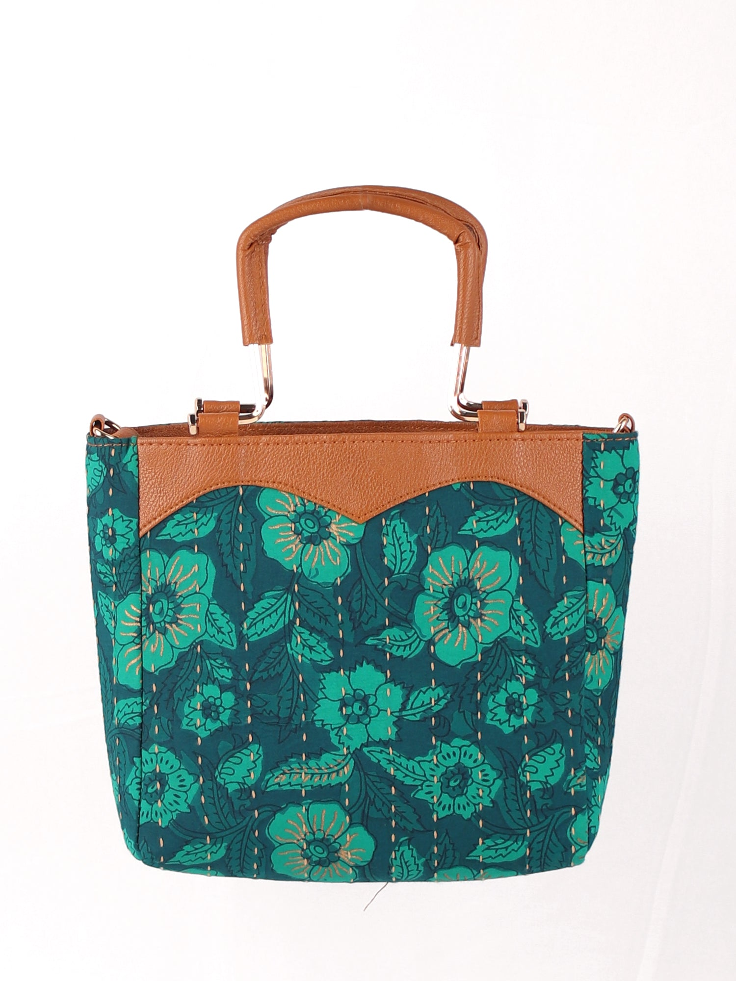 STYLE SPELL GREEN HANDBAG WITH HANDLE