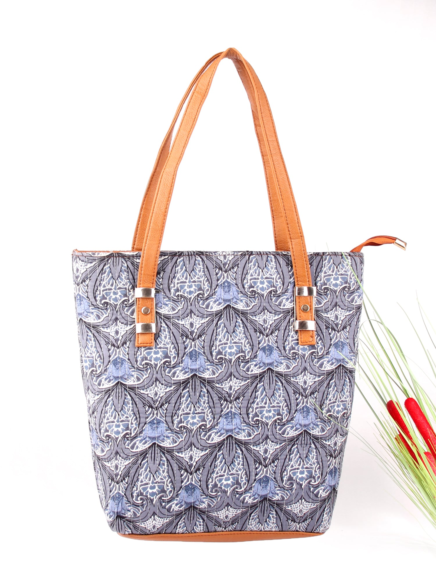 ABSTRACT PRINT TOTEBAG
