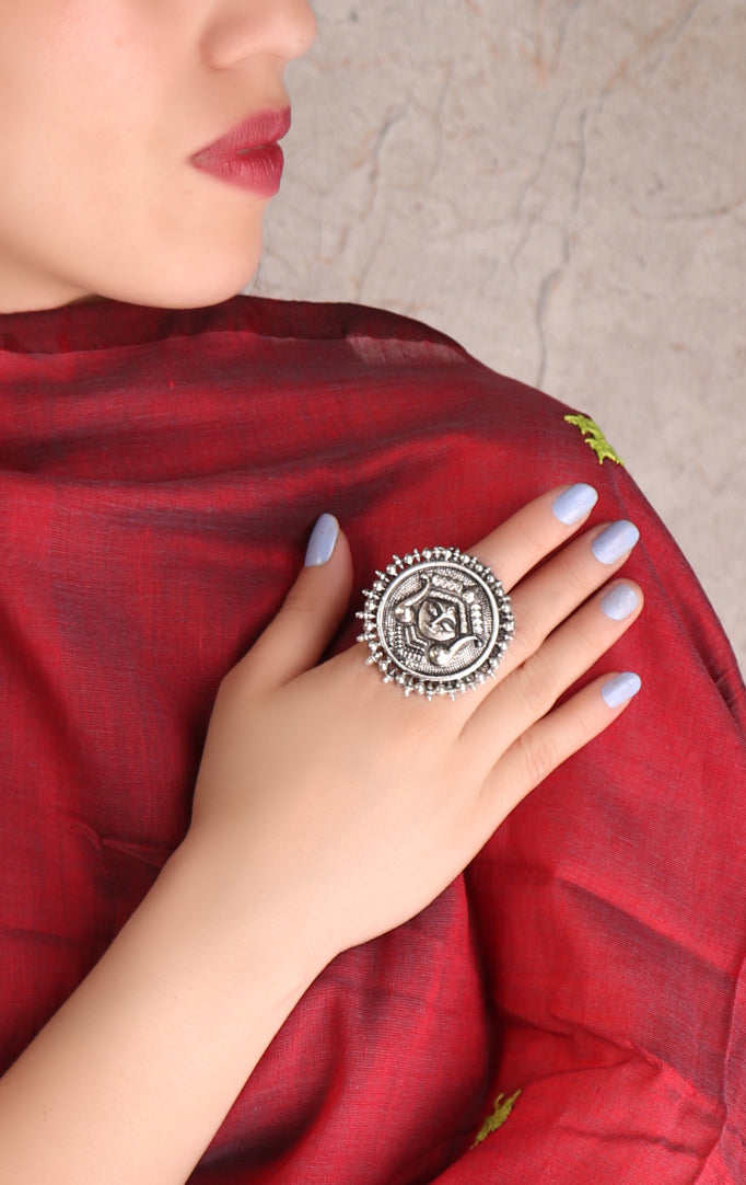 Goddess Designed Statement Ring