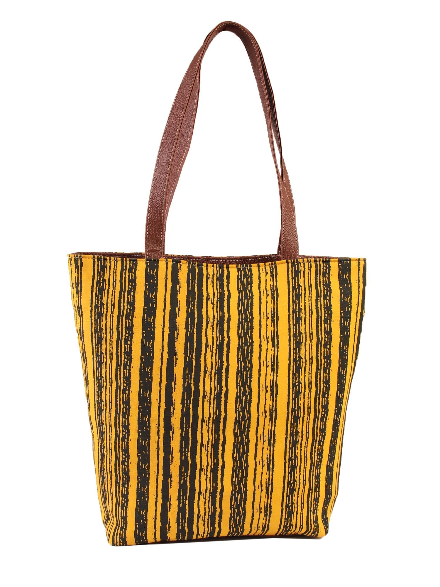Striped bezreky bag