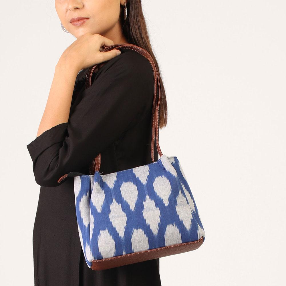 Roslyn blue Handbag