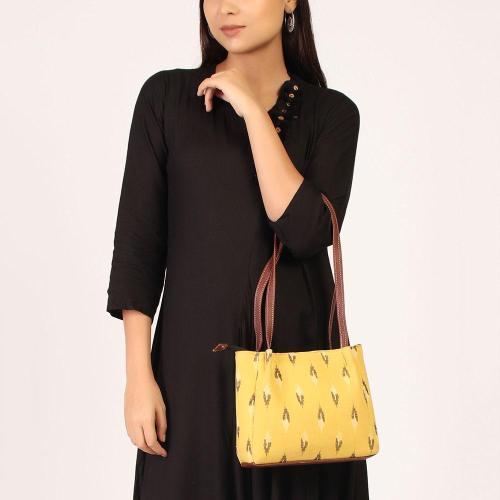 Breezy Yellow Handbag