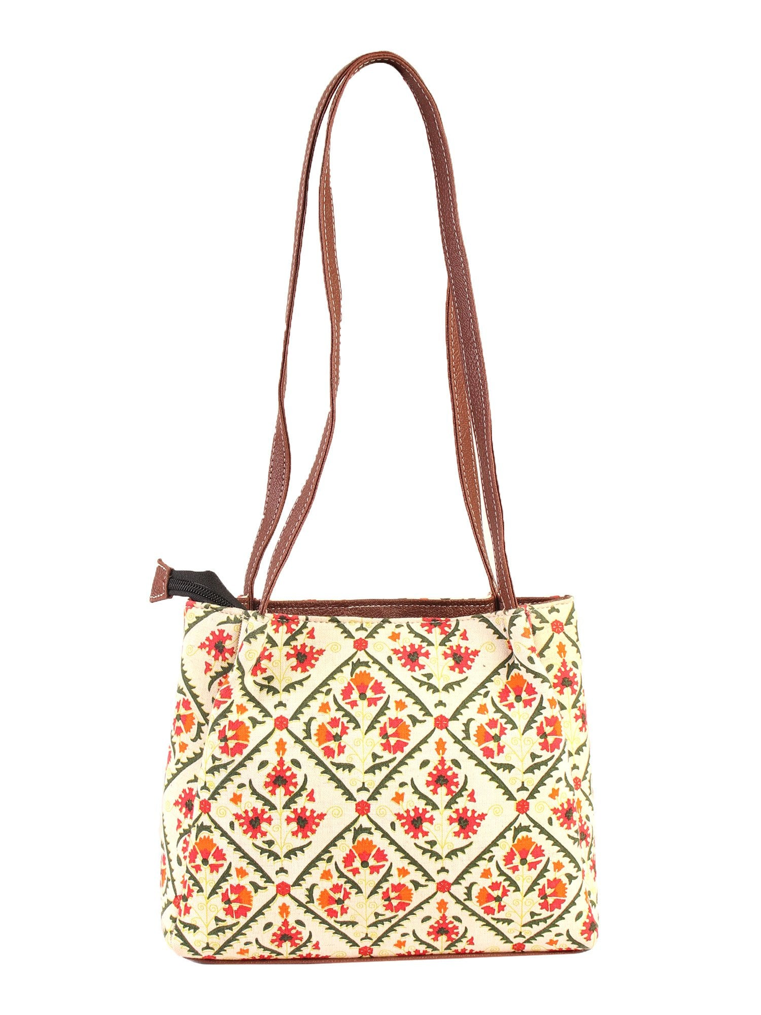 Beauteous Floral Handbag
