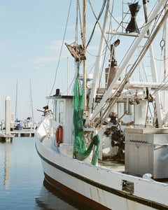 Morning Shrimp Boat on Film | February 2020 Wall Art Selection