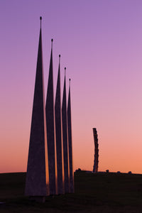 Momentum Sculpture at Sunset - TAMUCC Graduation Gift Photos