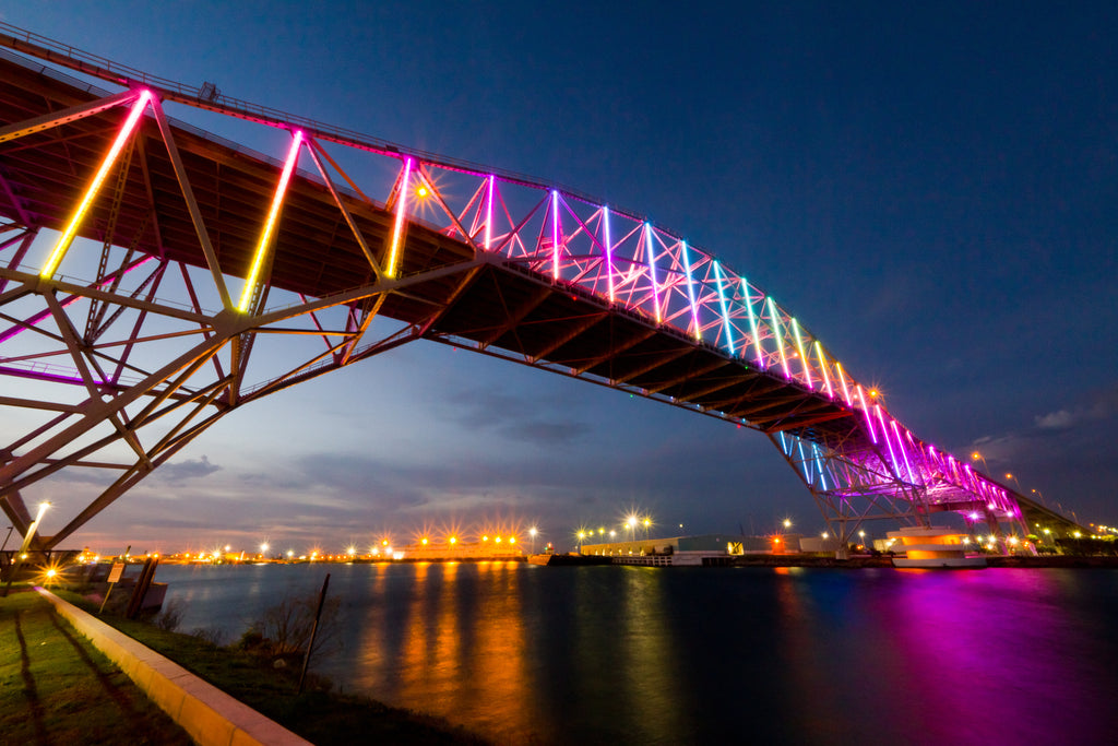 Harbor Bridge Rainbow | February 2019 Wall Art Selection