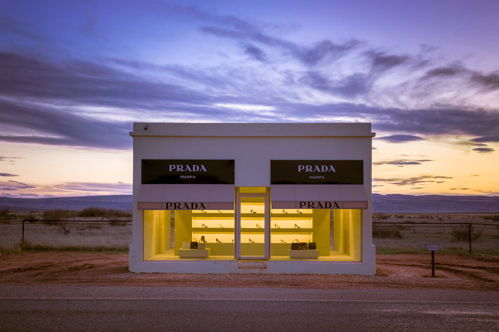 Prada Marfa Sunset | Shelter-At-Home Art Selection