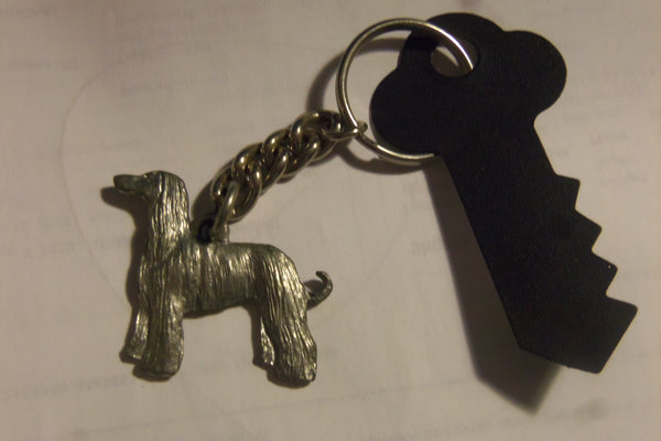 Afghan Key Chain By GG Harris Fine Pewter No. 870A