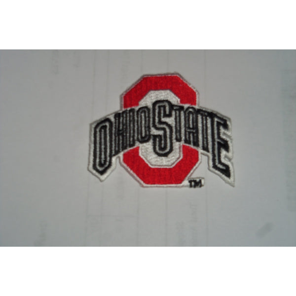 "NCAA Ohio State Buckeyes 1987-2012 Logo Iron On Embroidered Patch 2.5"" x 2 1/8"""