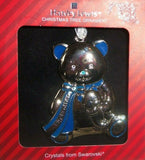 Harvey Lewis 2018 Big Brother Blue Silver Color Swarovski Crystals Ornament