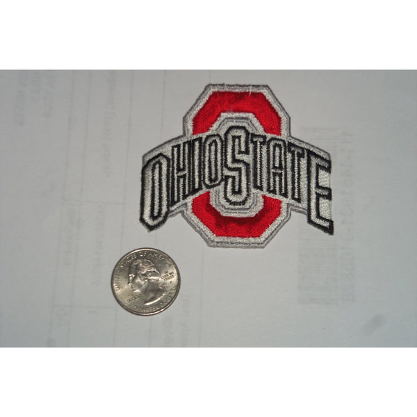 "NCAA Ohio State Buckeyes 2012 Logo Iron On Embroidered Patch 2.75"" x 2.5"""