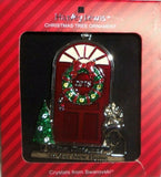 Harvey Lewis 2018 1st Christmas in new Home Silver Swarovski Crystals Ornament