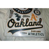 "MLB Oakland Athletics Car Window Cling 11"" x 17"" Sheet of 11 Clings"