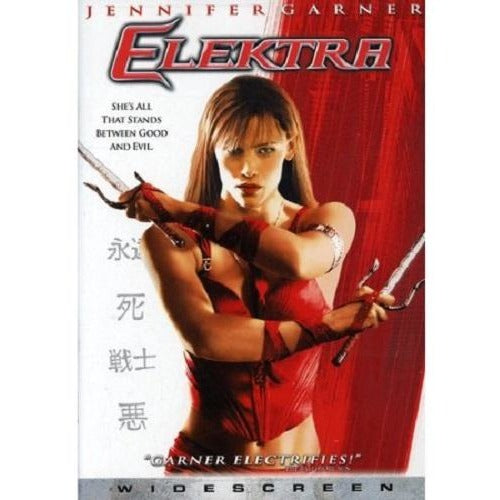 Used Elektra DVD Widescreen Jennifer Garner 2005 20th Centery Fox