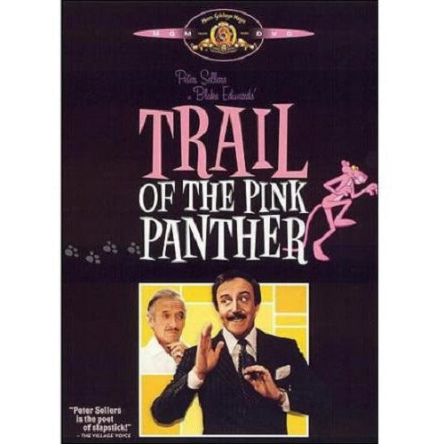 Trail of the Pink Panther DVD Peter Sellers Blake Edwards 1982 Remastered
