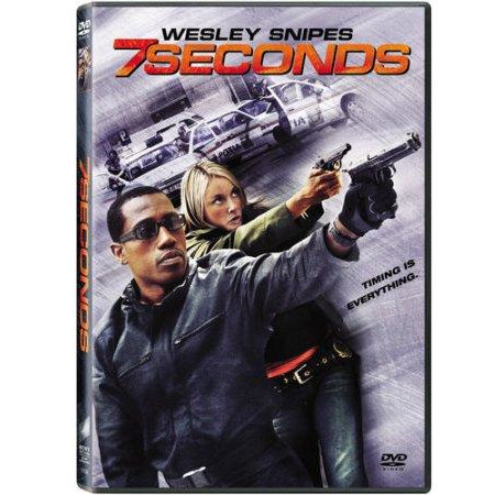 7 Seconds DVD Wesley Snipes Tazmin Outhwaite 2005 Sony Picture Home Used
