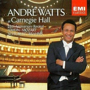 Used Andre Watts At Carnegie Hall 25th Anniversary CD 1992 Angel Records