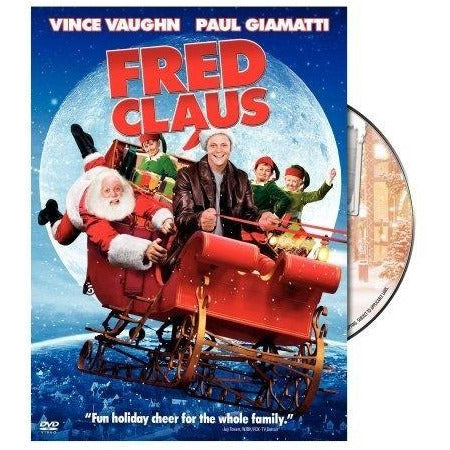 Fred Claus DVD Vince Vaugn 2007 Warner Brother