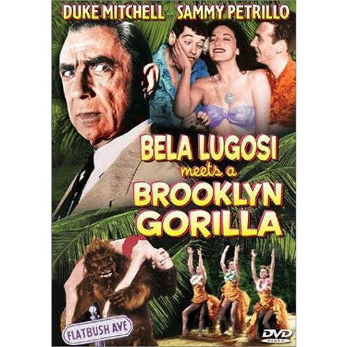 Bela Lugosi Meets a Brooklyn Gorilla DVD 2003 Alpha Video