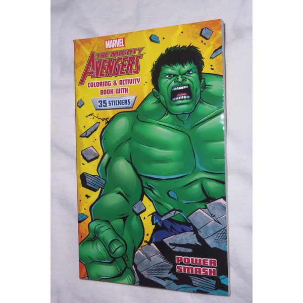 Marvel the Mighty Avengers Hulk Coloring and Activity Book with Stickers