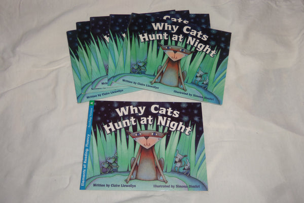 6 Rigby Literacy Why Cats Hunt at Night 5 Student 1 Teaching Books Ages 6-9