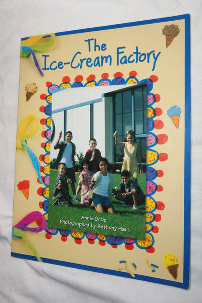 Rigby Literacy Book The Ice-Cream Factory Reader Levels 12 Annie Ortiz USED
