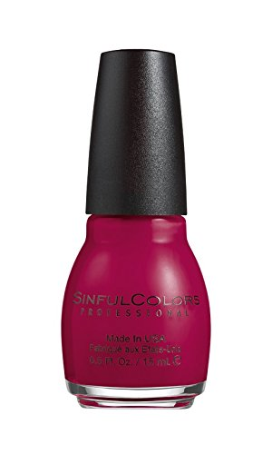 Sinful Colors Professional Nail Polish 1208 CHERRY CHARM .5 Fl Oz