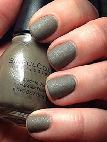 Sinful Colors Professional Nail Polish 1328 TAUPE IT OFF .5 Fl Oz