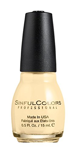 Sinful Colors Professional Nail Polish 1423 BEACHES AND CREAM .5 Fl Oz