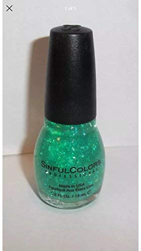Sinful Colors Professional Nail Polish 920 GREEN OCEAN .5 Fl Oz
