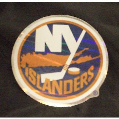 NHL New York Islanders Team Logo in Full Color & Shape Sticker #19