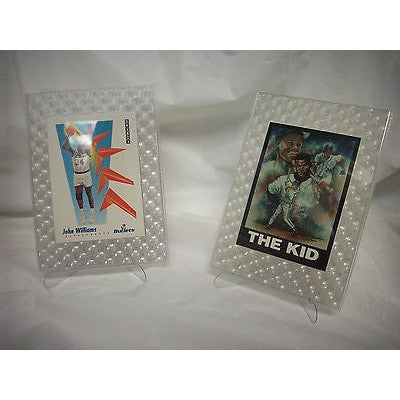2 pack MLB 3-D Trimensions Card Frames & Stands with Ken Griffey Jr. Card