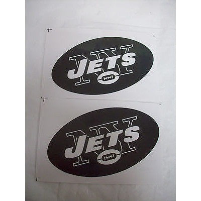 2 NFL New York Jets Team Logo in Full Color & Shape Paper Sticker #22