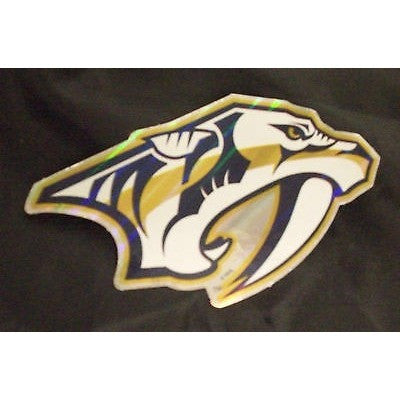 NHL Nashville Predators Team Logo in Full Color & Shape Sticker #17