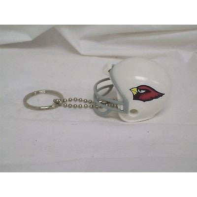 "NFL Arizona Cardinals 1 1/2"" Mini Plastic Helmet Pencil Topper Key Chain Ring"