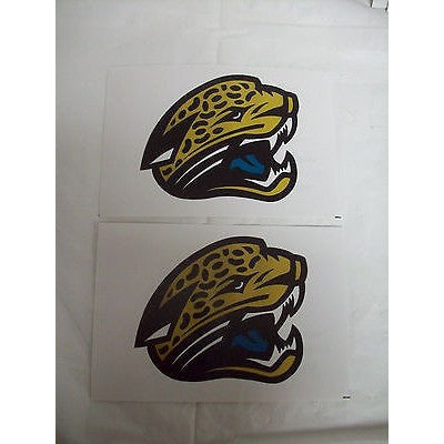 2 NFL Jacksonville Jaguars Team Logo in Full Color & Shape Paper Sticker #15