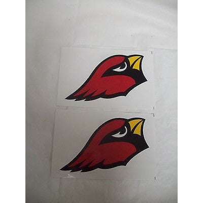2 NFL Arizona Cardinals Team Logo in Full Color & Shape Paper Sticker #1